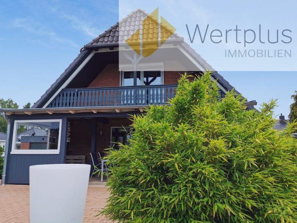 Immobilienangebot: Loggia-Haus mit Veranda in Fintel Fachwerk Kotten bei Visselhövede - Wertplus Immobilien