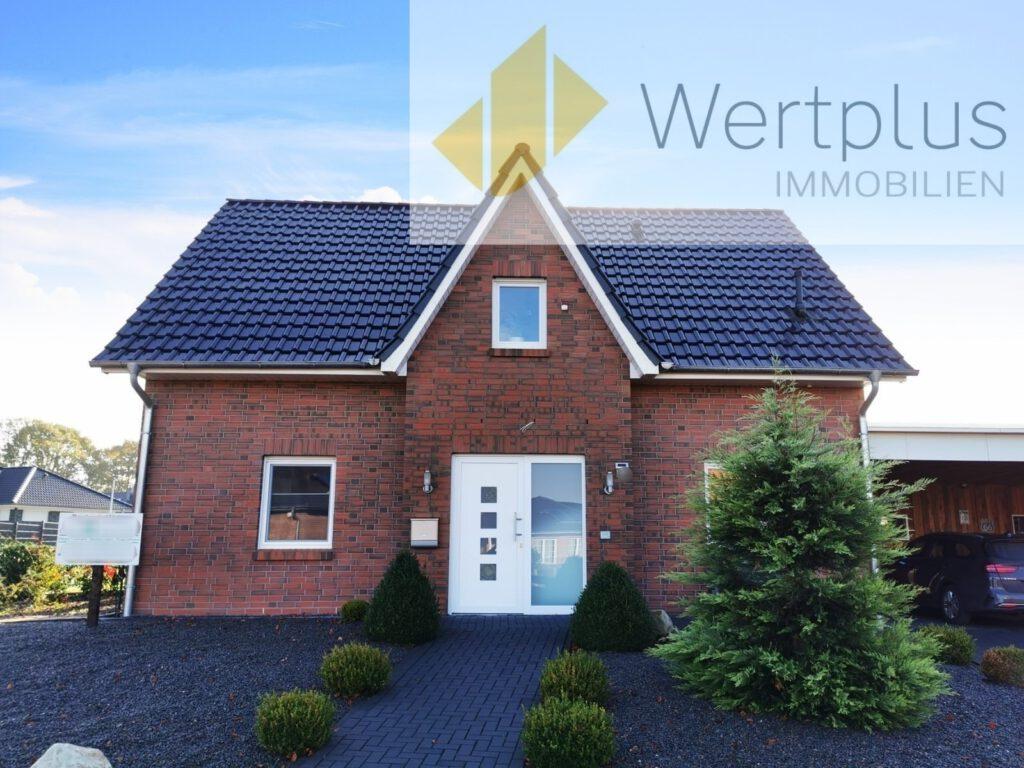 Immobilienangebot: Modernes Dreigiebel-Haus in Walsrode-Benefeld Fachwerk Kotten bei Visselhövede - Wertplus Immobilien