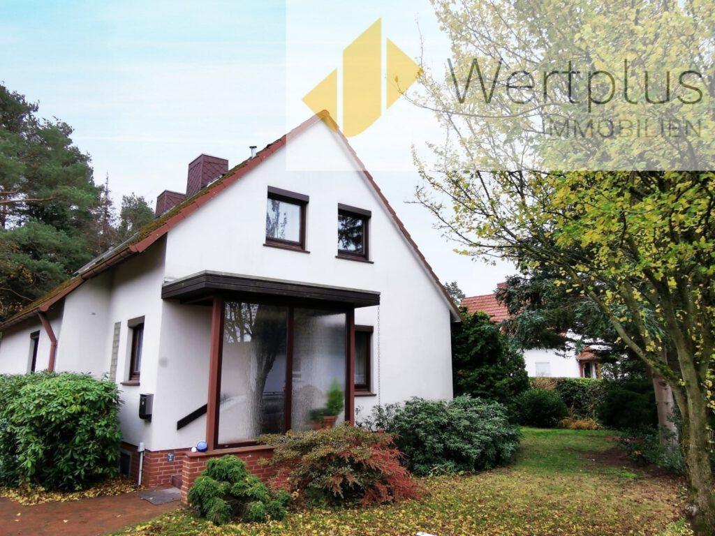 Immobilienangebot: Loggia-Haus in Schneverdingen Fachwerk Kotten bei Visselhövede - Wertplus Immobilien