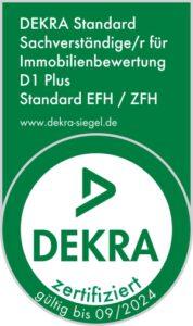 Alexander Ortmann - DEKRA zertifizierter Sachverständiger Immobilienbewertung D1 Plus Standard EFH / ZFH