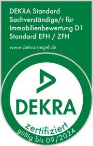 Alexander Ortmann - DEKRA zertifizierter Sachverständiger Immobilienbewertung D1 Standard EFH / ZFH